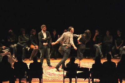Teatro: Peceras en el ciclo Estrénate del CICUS de Sevilla