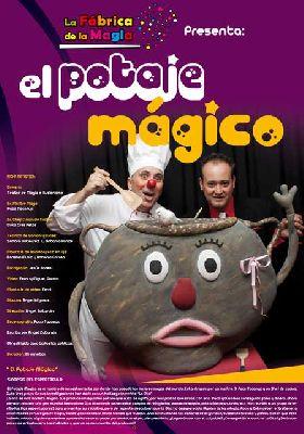 Teatro infantil: El potaje mágico en el Teatro Quintero Sevilla