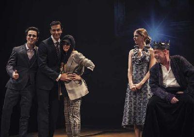 Foto promocional de la obra Ricardo III por la compañía El Pavón Teatro Kamikaze