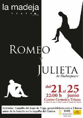 Teatro: Romeo y Julieta en el Centro Cerámica Triana de Sevilla