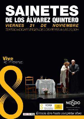 Teatro: Sainetes de los Álvarez Quintero en Teatro Virgen de los Reyes Sevilla