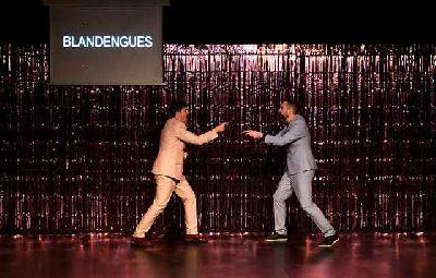 Foto de la obra Ser más hombre. Una cuestión musical de la compañía Los Blandengues