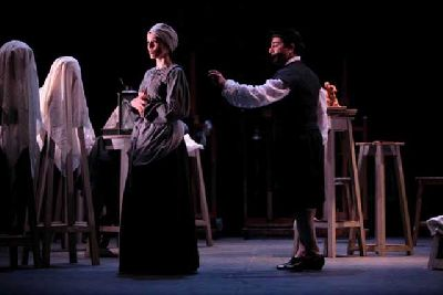 Teatro: La soledad de La Roldana en el Antiquarium de Sevilla 2018
