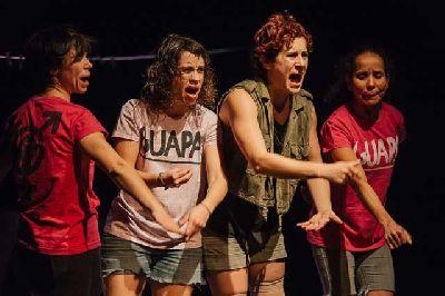 Teatro: Las solidarias en el Centro TNT-Atalaya de Sevilla 2018