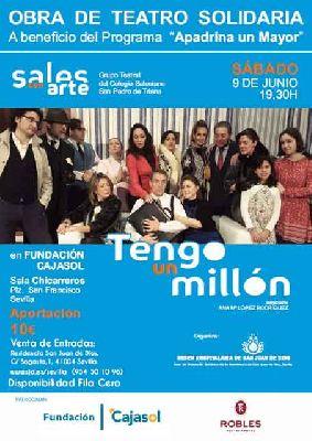Teatro: Tengo un millón en Cajasol Sevilla 2018