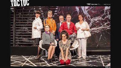 Foto promocional de la obra de teatro Toc Toc de la compañía LaZona