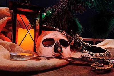 Foto promocional de la obra Viaje a Pancaya de la compañía Tranvía Teatro