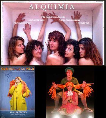 Teatro: Alquimia y Mariquilla la Pelá en Viento Sur Teatro