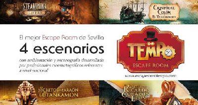 Escape Room Tempo en Sevilla