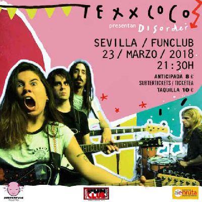 Concierto: Texxcoco en FunClub Sevilla