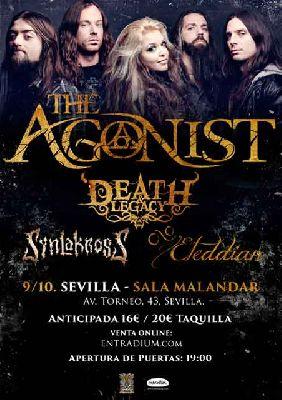 Concierto: The Agonist en Malandar Sevilla