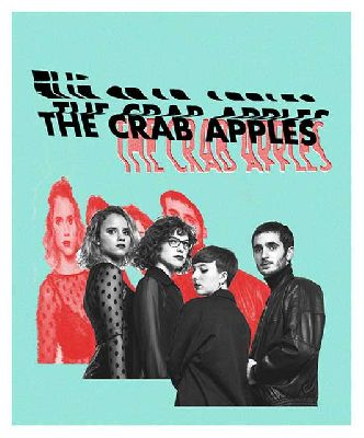 Cartel del concierto de The Crab Apples