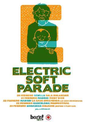 Concierto: The Electric Soft Parade en la sala Malandar Sevilla