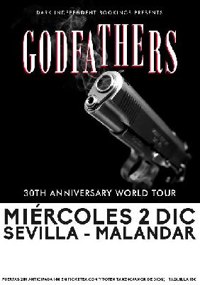 Concierto: The Godfathers en Malandar Sevilla