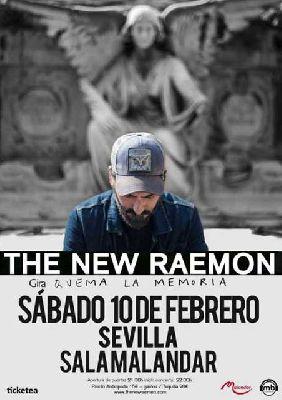 Concierto: The New Raemon en Malandar Sevilla (febrero 2018)