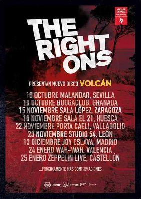 Concierto: The Right Ons en Malandar Sevilla