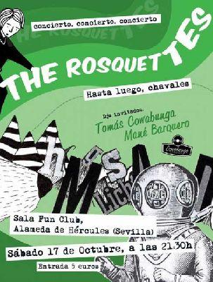 Concierto: The Rosquettes en FunClub Sevilla