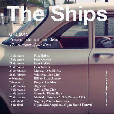 Concierto: MonkeyWeek presenta a The Ships en FunClub Sevilla