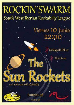 Concierto: The Sun Rockets en Malandar Sevilla (junio 2016)