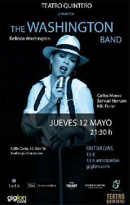 Concierto: The Washington Band en el Teatro Quintero de Sevilla