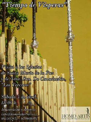 Tiempo de Vísperas, visita a iglesias de Sevilla de Homoartis