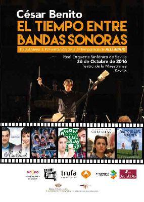 Concierto: El tiempo entre bandas sonoras en el Maestranza de Sevilla