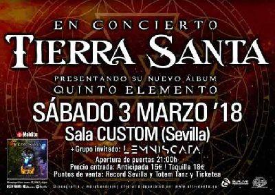 Concierto: Tierra Santa en Custom Sevilla 2018