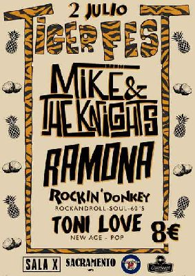 Concierto: Tiger Fest en la Sala X de Sevilla