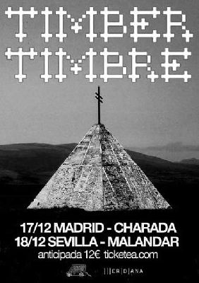 Concierto: Timber Timbre en la Sala Malandar Sevilla