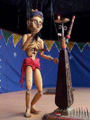 Teatro infantil: The Puppet Circus en La Imperdible de Sevilla