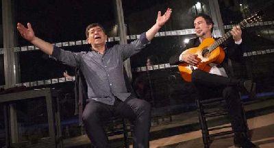 Foto promocional de Tomás de Perrate y Alfredo Lagos