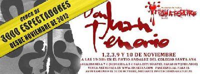 Teatro: Don Juan Tenorio por TomaTeatro (noviembre 2013)