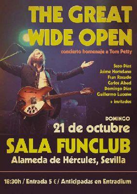 Concierto: Homenaje a Tom Petty en FunClub Sevilla 2018