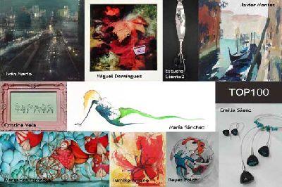 Exposición: Top100 en Espacio 1de7 de Sevilla