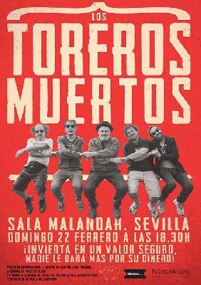 Concierto: Los Toreros Muertos en Malandar Sevilla