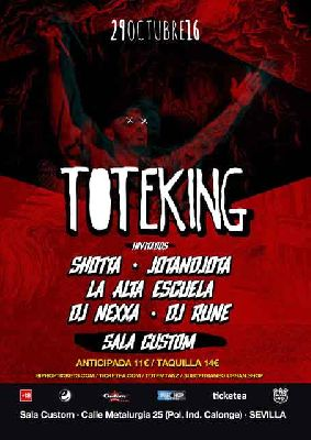 Concierto: Tote King Gira 78 en Custom Sevilla