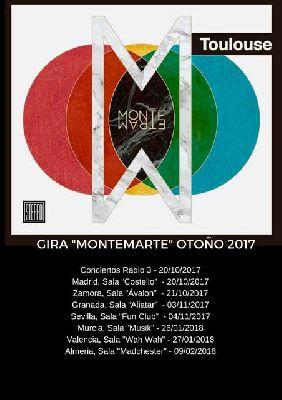 Concierto: Toulouse en FunClub Sevilla 2017
