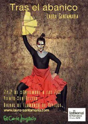 Flamenco: Tras el abanico en Viento Sur Teatro Sevilla 2018