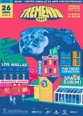 Cartel del Tremendo Festival 2019 en el CAAC de Sevilla