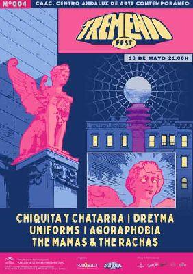 Cartel del Tremendo Festival mayo 2019 en el CAAC de Sevilla
