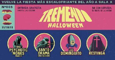 Cartel del Tremendo Festival octubre 2019 en el CAAC de Sevilla