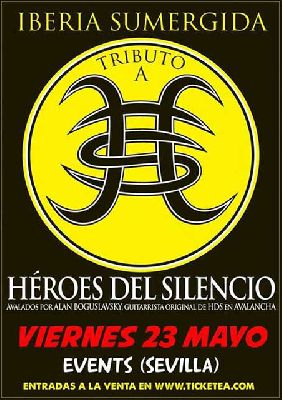 Concierto: Iberia Sumergida (tributo a HDS) en la Sala Events de Sevilla