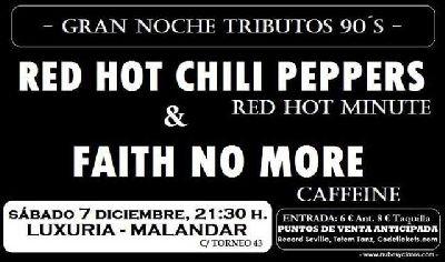 Concierto: Red HOT Minute y Caffeine en Malandar Sevilla