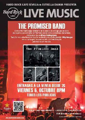 Concierto benéfico tributo a Springsteen en el Hard Rock Café de Sevilla