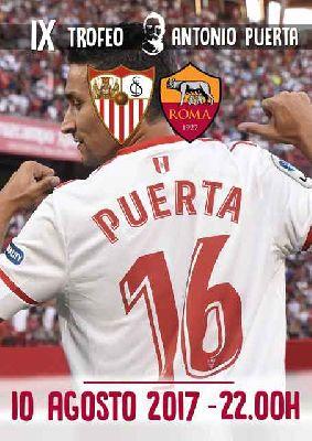 Sevilla - Roma IX Trofeo Antonio Puerta 2017