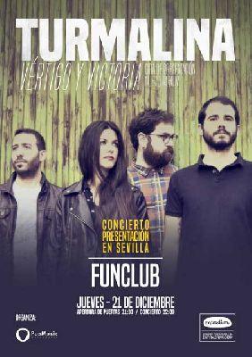 Concierto: Turmalina en FunClub Sevilla 2017