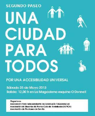 Una ciudad para todos (paseo explicativo de accesibilidad)