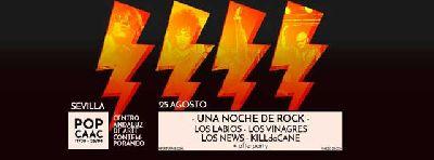 Concierto: Una noche de rock en Pop CAAC Sevilla 2017