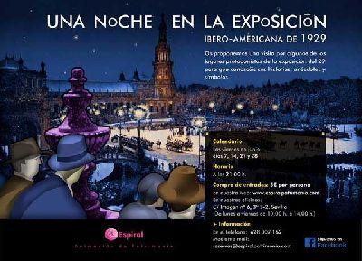 Visitas nocturnas Una Noche en la Exposición (junio/julio 2013)