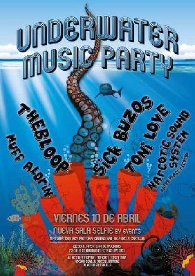 Underwater Music Party en la Sala Selfie de Sevilla